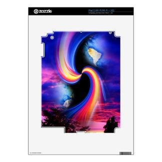 Mundo místico 3 iPad 2 calcomanía