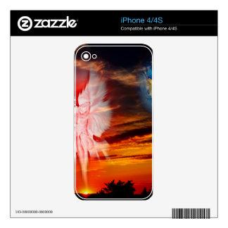 Mundo místico, aparición divina skins para iPhone 4S