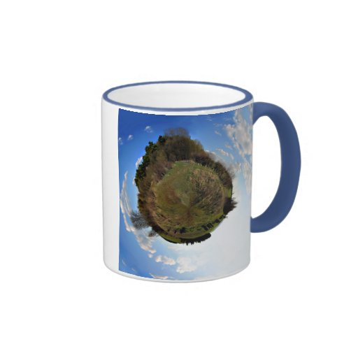 Mundo natural en taza miniatura