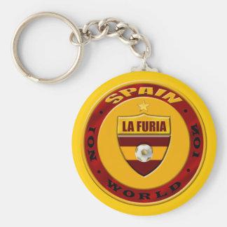 Mundo ningún de España emblema de lujo 1 nuevo del Llavero Redondo Tipo Pin
