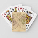 Mundo por Worcester Baraja De Póquer