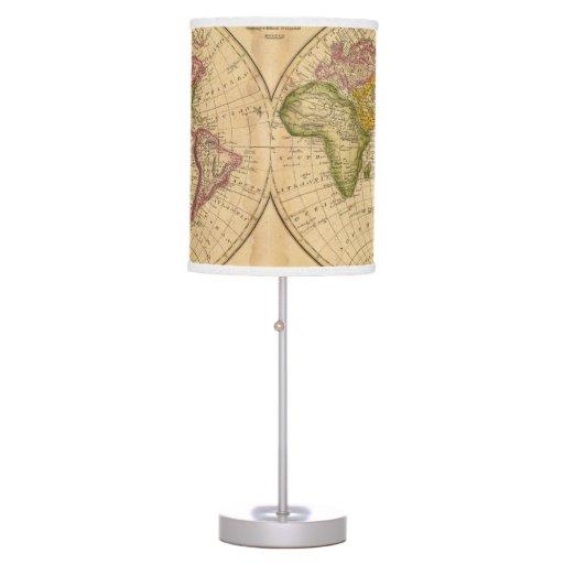 Mundo por Worcester Lámpara De Mesa