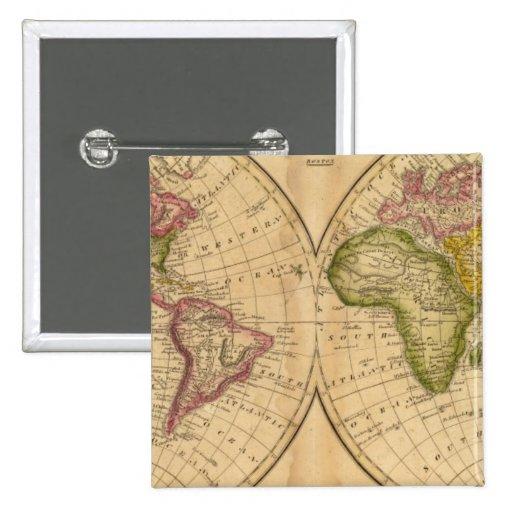 Mundo por Worcester Pins