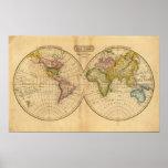 Mundo por Worcester Póster