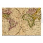 Mundo por Worcester Tarjeta De Felicitación