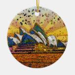 Mundo psicodélico: Horizonte A1 de Sydney Ornamento Para Reyes Magos