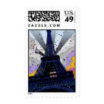 Mundo psicodélico: Torre Eiffel París Francia A2 Franqueo