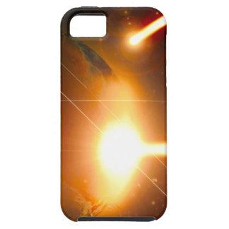 Mundo que es cubierta destruida de Iphone iPhone 5 Case-Mate Cárcasa