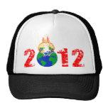 Mundo que estalla en 2012 gorros bordados