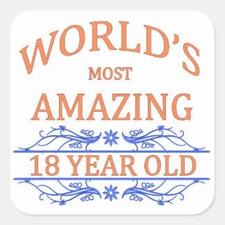 Mundo que sorprende 18 años