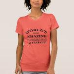 Mundo que sorprende 95 años camisetas