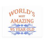 Mundo que sorprende 95 años postal