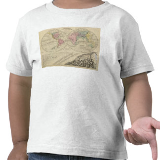 Mundo, sistemas fluviales camisetas