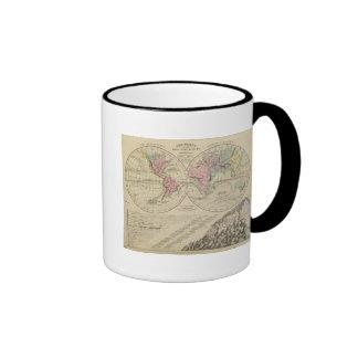 Mundo, sistemas fluviales taza