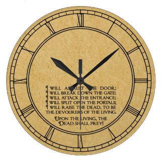 Mundo terrenal que entra de Inanna Reloj Redondo Grande