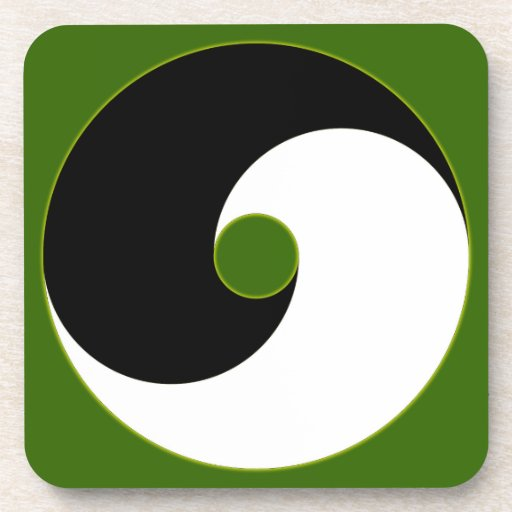 Mundo Yin Yang world Posavasos