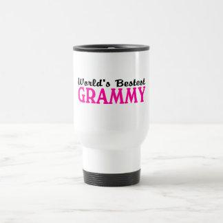 Mundos Bestest Grammy Taza De Viaje