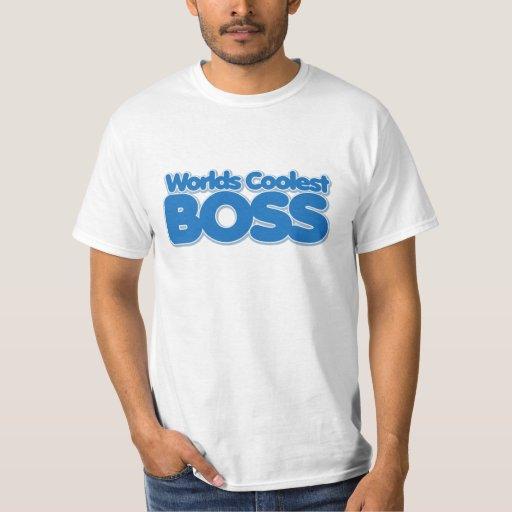 Mundos Boss más fresco Playeras