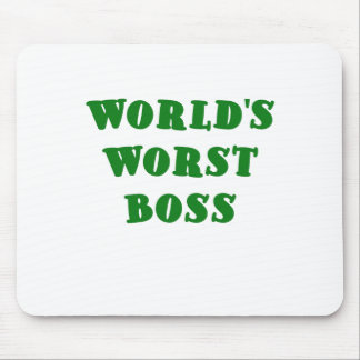 Mundos Boss peor Tapetes De Ratones