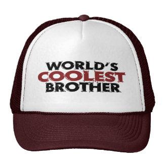 Mundos Brother más fresco Gorros Bordados