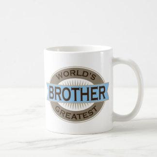 Mundos Brother más grande Taza Clásica