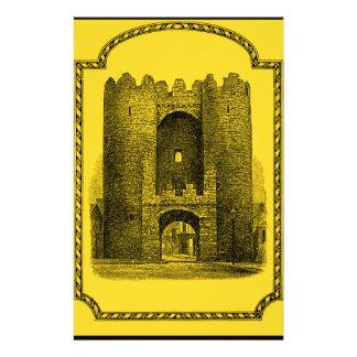 Mundos de la fantasía: Castillo medieval Papelería De Diseño