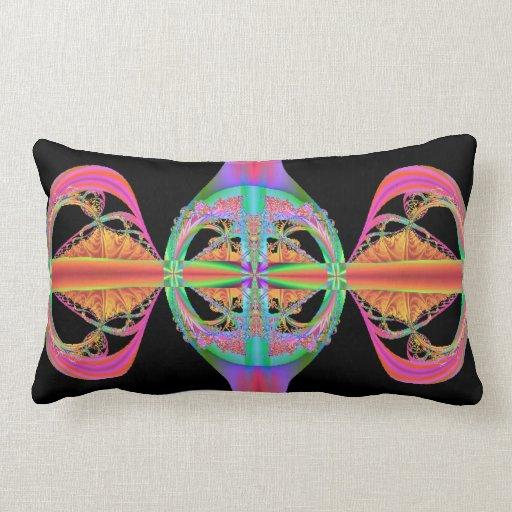 Mundos del fractal cojin