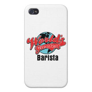 Mundos el Barista más grande iPhone 4/4S Carcasa