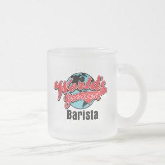 Mundos el Barista más grande Tazas De Café