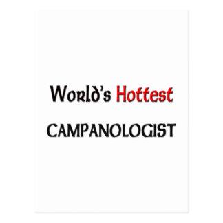 Mundos el Campanologist más caliente Postal