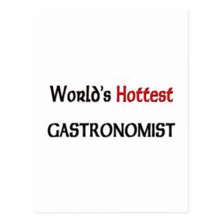 Mundos el Gastronomist más caliente Postal