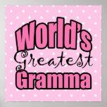 Mundos el Gramma más grande Impresiones