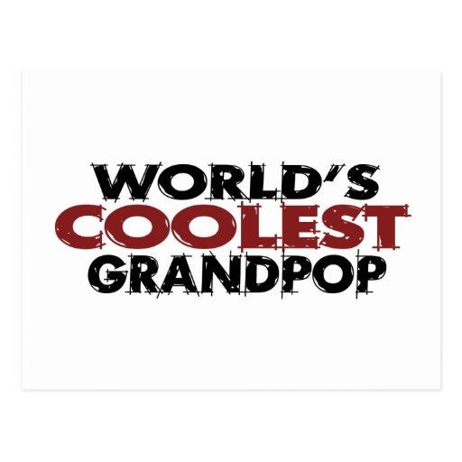 Mundos el Grandpop más fresco Postal