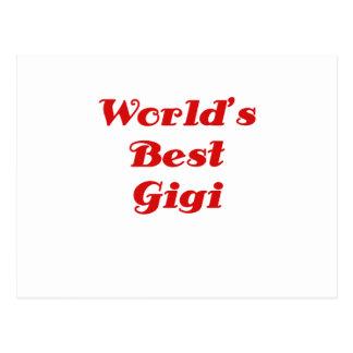 Mundos el mejor Gigi Postal