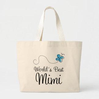 Mundos el mejor Mimi Bolsa Tela Grande