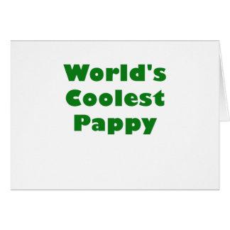 Mundos el Pappy más fresco Tarjeta De Felicitación