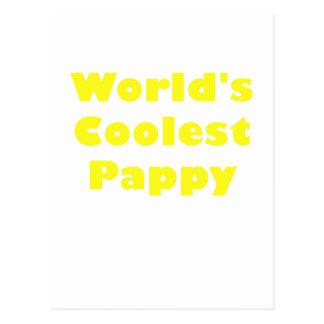 Mundos el Pappy más fresco Tarjetas Postales