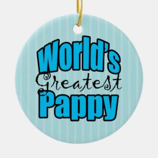 Mundos el Pappy más grande Ornaments Para Arbol De Navidad