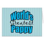 Mundos el Pappy más grande Tarjeton