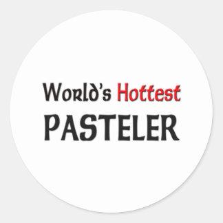 Mundos el Pasteler más caliente Etiqueta