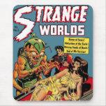 Mundos extraños #5 Mousepad Alfombrillas De Ratones