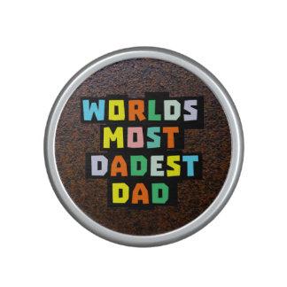 Mundos la mayoría del papá de Dadest Altavoz Bluetooth