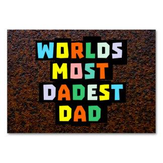 Mundos la mayoría del papá de Dadest
