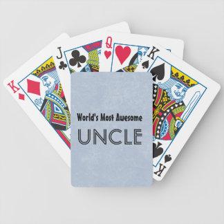 Mundos la mayoría del tío impresionante Blue Grung Barajas De Cartas