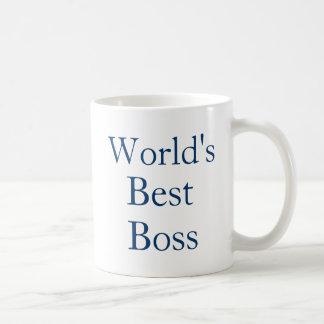 Mundos mejor Boss Taza