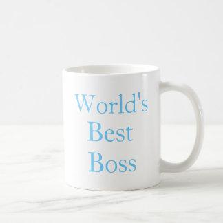 Mundos mejor Boss Taza Clásica