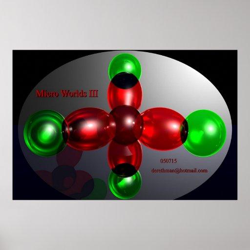 Mundos micro III (impresión) Impresiones