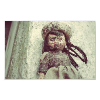 Muñeca abandonada fotografía