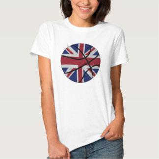 Muñeca BRITÁNICA de las señoras del baloncesto Camisas