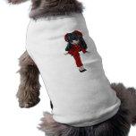 MUÑECA caprichosa de CHINA Camisetas De Mascota